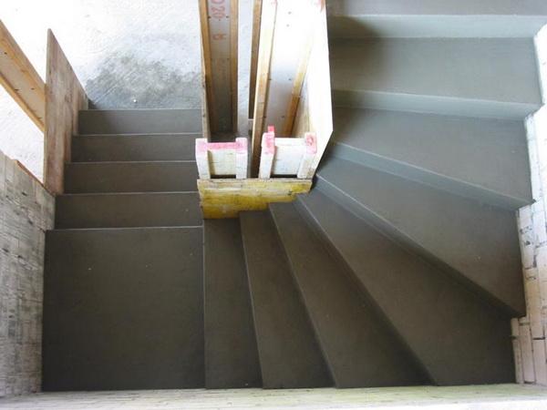 Изготовление бетонной лестницы своими руками видео